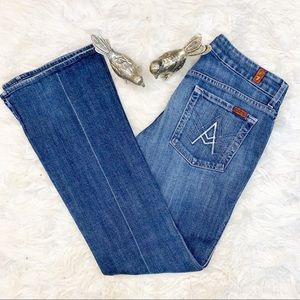 7 For All Mankind A-Pocket Mid- Rise Boot Cut